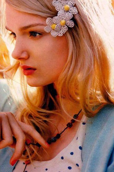 Английская супермодель Лили Дональдсон. Фото с efu.com.cn