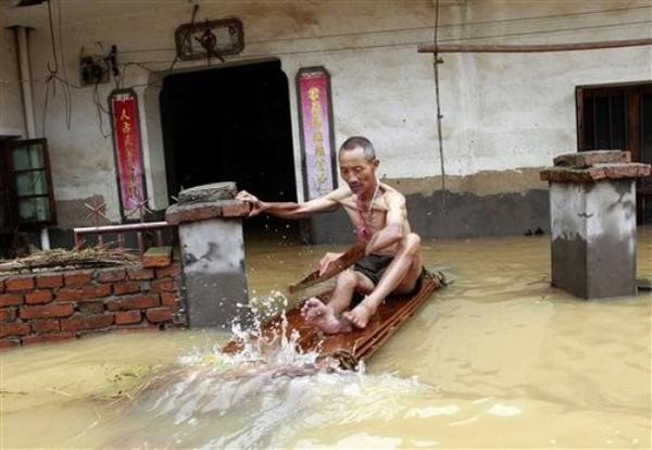 Повені в Китаї. Червень 2010 рік. Фото: AP