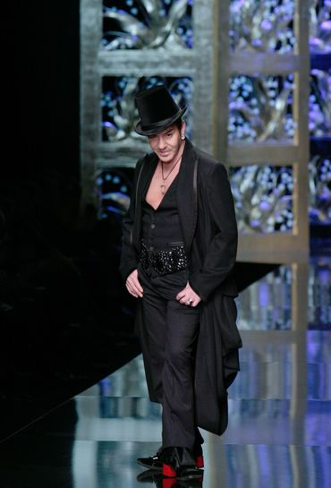 Джон Гальяно (John Galliano). Фото:FRANCOIS GUILLOT/AFP/Getty Images