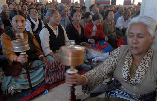 Акция в защиту Тибета в Непале. Фото: PRAKASH MATHEMA/AFP/Getty Images