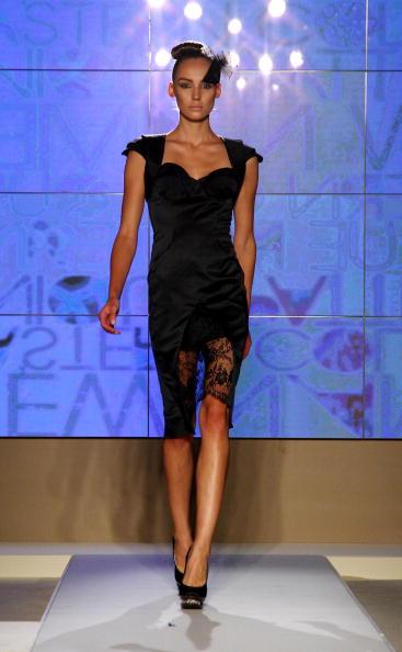 Guli представляет STYLE.UZBEKISTAN на Неделе моды в Милане. Фото: Vittorio Zunino Celotto/Getty Images