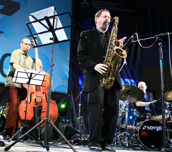 Jed Levi. Блестящий саксофонист,на протяжении двадцати лет выступающий на нью-йоркской джазовой сцене/фото:Катерина Кушнаренко