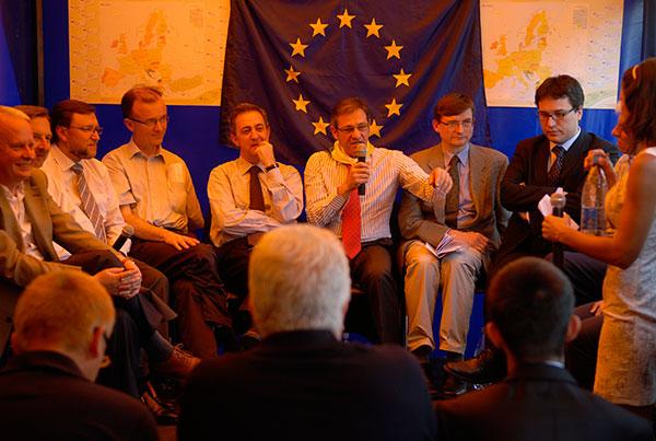 День Европы отметили в Киеве 15 мая 2010 года. Фото: Владимир Бородин/ The Epoch Times