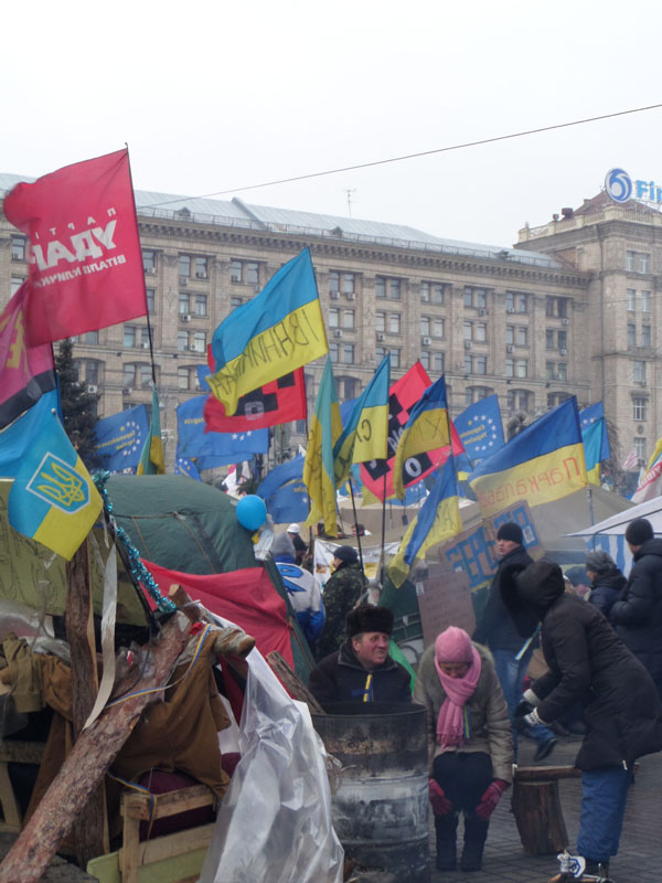 Євромайдан. Фото: Оксана Богомаз/Велика Епоха