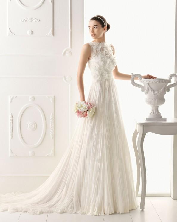 Ніжність і романтичність у весільних сукнях від Aire Barcelona. Фото: airebarcelona.es