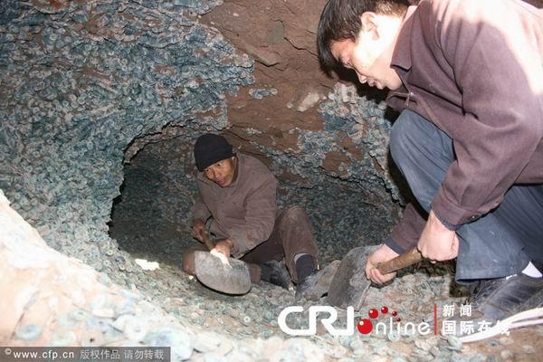 Великий скарб монет династії Сун. Провінція Шеньсі. Китайська Народна Республіка. Грудень 2010 р. Фото з epochtimes.com