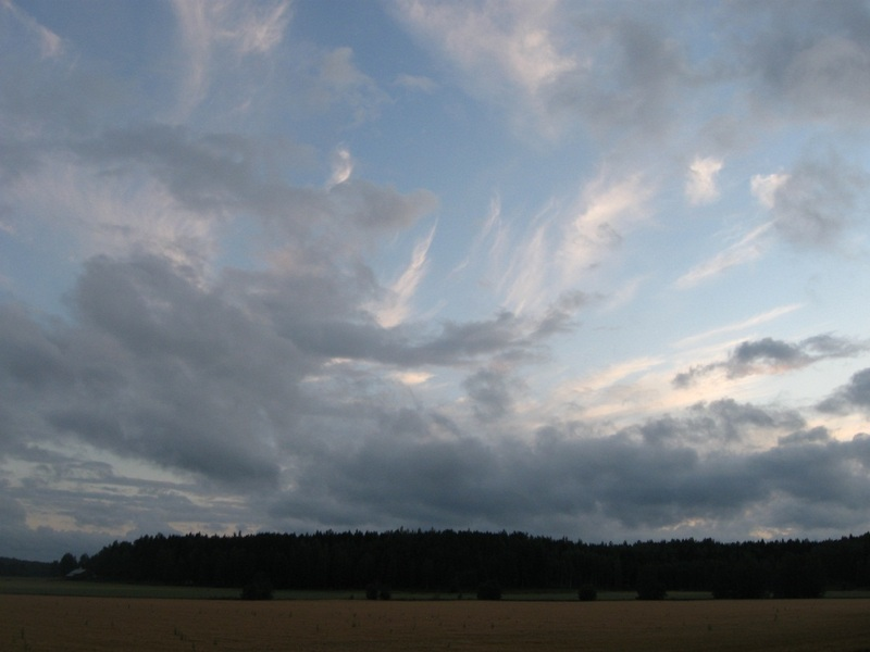 Ось так розкрилась переді мною Фінляндія, край, де зайці бігають по дорогах, плаче дощ і хмари так низько. Фото: Людмила Влох/Велика Епоха