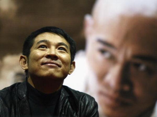 Джет Лі на презентації «Безстрашний» в Сеулі в 2005. Фото: Chung Sung-Jun/Getty Images