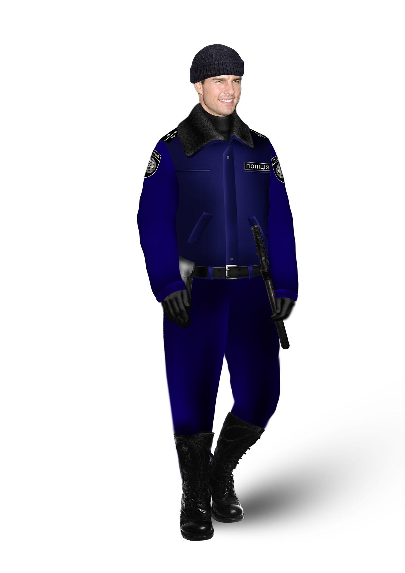 Запропонована форма для української поліції. Фото надано виробничим концерном «Воєнторг ДіСі»