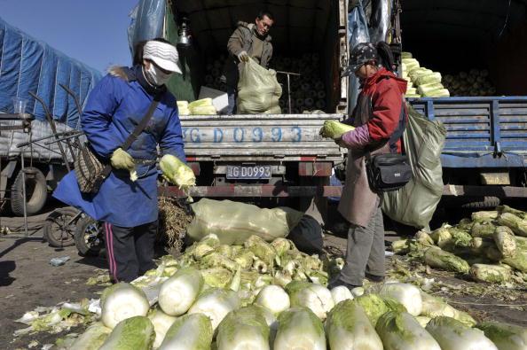 Рынки города Шеньяна северо-восточной китайской провинции Ляонин. 10 марта 2009 г. Фото: China Photos/Getty Images
