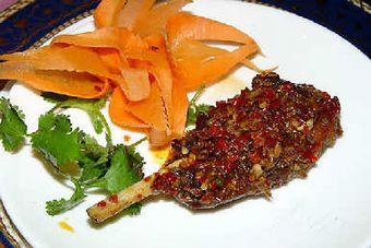 Мясо по синцзянски. Фото с aboluowang.com
