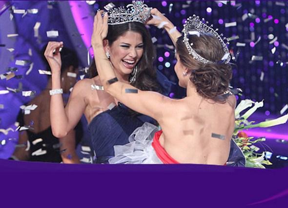 Ана Патрисия Гонсалес победила в финале Nuestra Belleza Latina 23 мая 2010 в Майами, Флорида. США. Фоторепортаж. Фото с сайта Univision.com