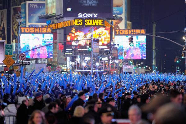 Нью-Йорк. Таймс-сквер. Фото: Jemal Countess / Getty Images