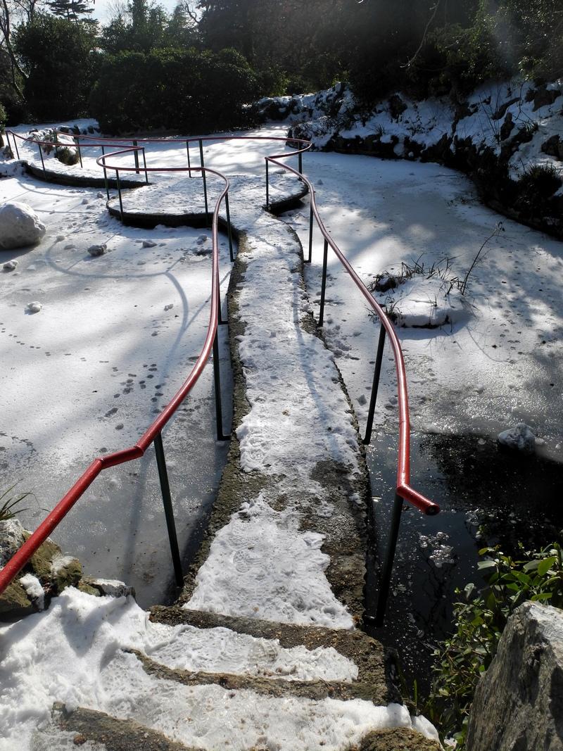 Форосский парк зимой. Фото: Алла Лавриненко/The Epoch Times Украина