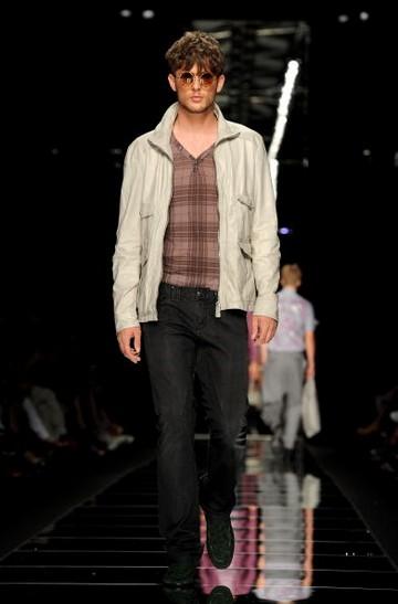 Чоловіча колекція John Richmond весна-літо 2010 на Тижні моди у Мілані. Фото: Tullio M. Puglia/getty Images