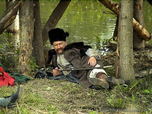 То что осталось за камерой при съёмке фильма Слуга государев. Фото: slugagosudarev.com