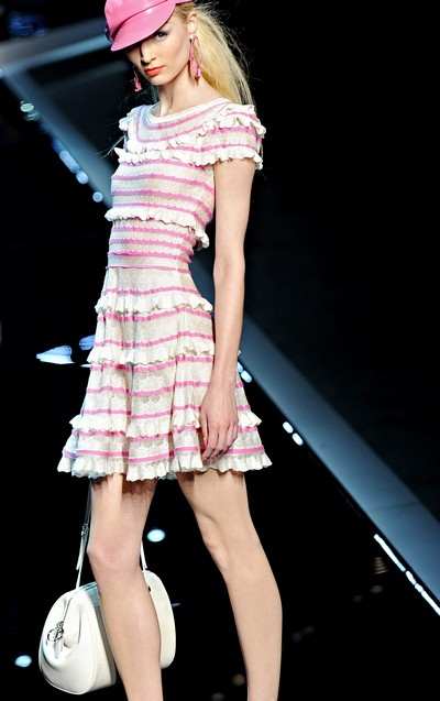 Показ Dior Cruise 2011 в Шанхаї. Фото: PHILIPPE Lopez/afp/getty Images