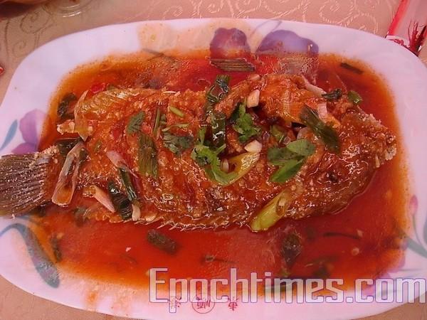 Тушкована риба Yingge (Інге)