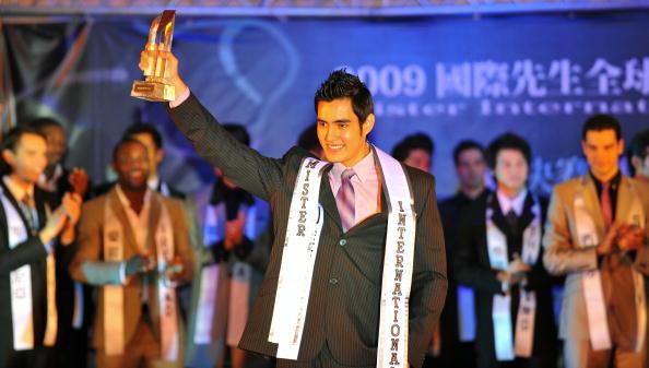 Мистер интернэшнл 2009 стал студент из Боливии Бруно Кеттелс. Тайбей,Тайвань. Фото: SAM YEH/AFP/Getty Images