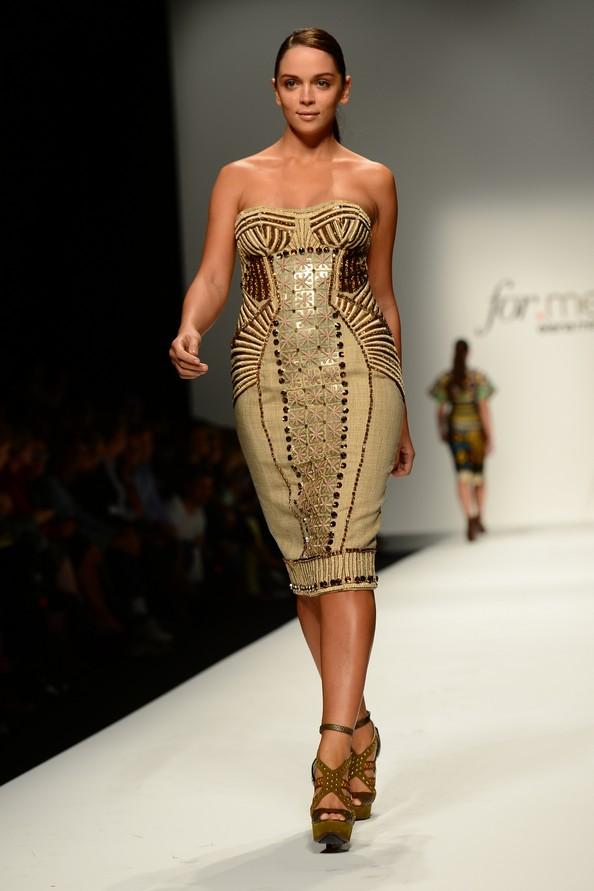 Elena Mirò на Миланской неделе моды. Фото: OLIVIER MORIN/AFP/GettyImages