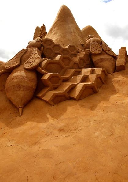 Виставка піщаної скульптури відкрилася в Мельбурні. Фото: Graham Denholm / Getty Images