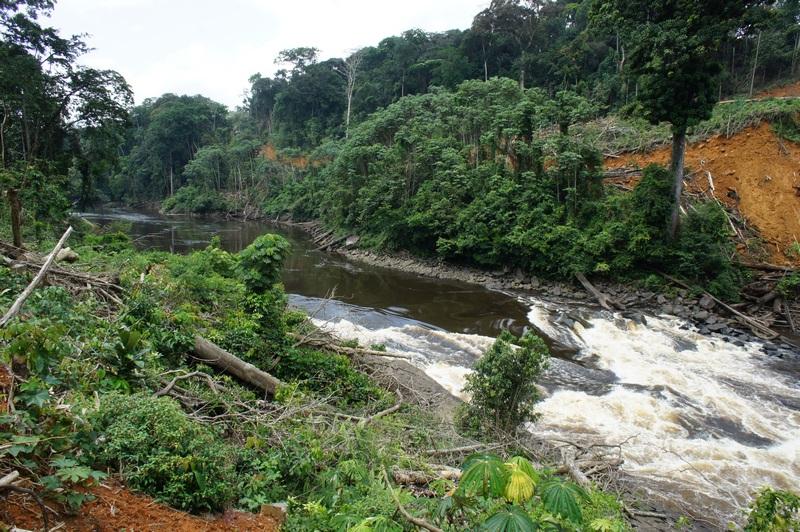 Поріг на річці Веле. Фото: Олександр Африканець