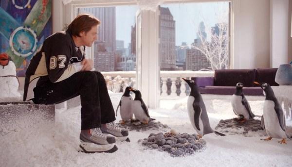Кадр из фильма «Пингвины мистера Поппера»
