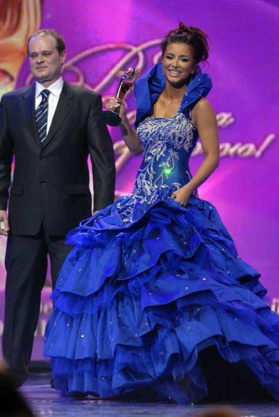 Ани Лорак на награждении победителей общенациональной программы «Человек года 2008». Фото: Владимир Бородин/The Epoch Times