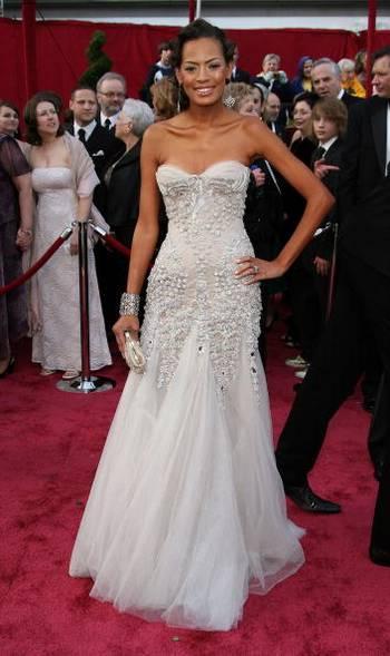 Актриса Кейша Уитакер (Keisha Whitaker) посетила церемонию вручения Премии Оскар в Голливуде Фото: Frazer Harrison/Getty Images