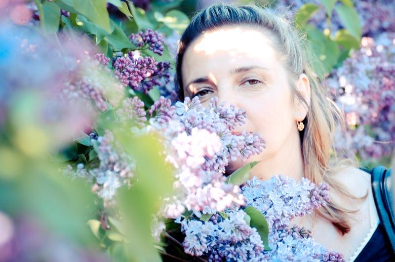 Бузок розцвів у Національному ботанічному саду в Києві. Фото: Велика Епоха