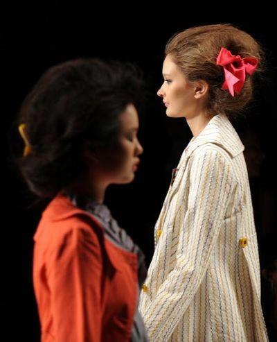 Коллекция Tulle & Cloth Logic. Фото: Frazer Harrison/Getty Images