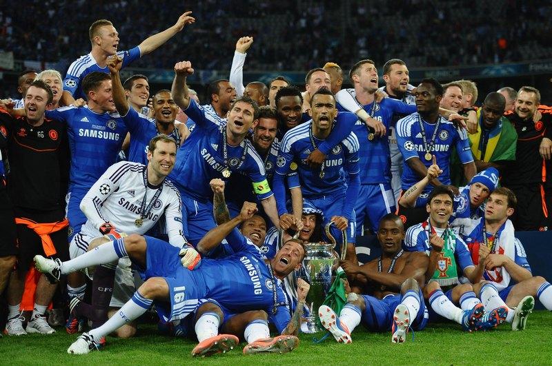 Мюнхен, Німеччина, 19травня. Лондонський клуб «Челсі» вперше в історії виграв фінал Ліги чемпіонів УЄФА, перегравши по пенальті мюнхенську «Баварію». Фото: Laurence Griffiths/Getty Images