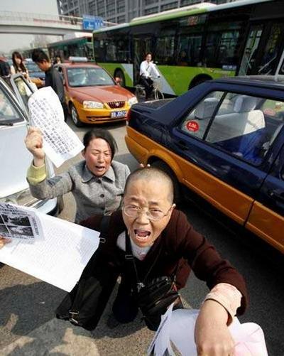 Китайские апеллянты одна из наиболее бесправных групп граждан в КНР. Фото с epochtimes.com