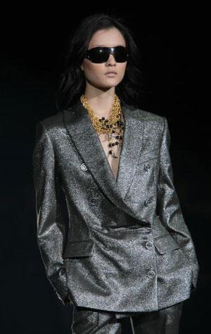 The Just Cavalli fashion show/жіноча колекція ready-to-wear осінь-зима 2007. Фото: Giuseppe Cacace/Getty Images