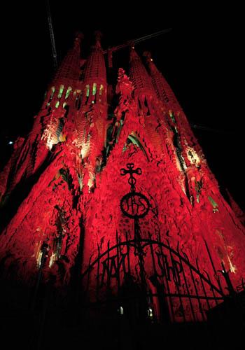 Достопримечательности Барселоны.Храм Святого Семейства - Саграда Фамилия. Фото: LLUIS GENE/AFP/Getty Images