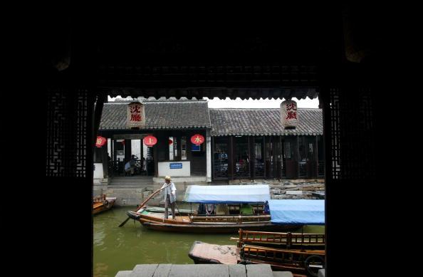 Чжоучжуан, древний посёлок на воде. Фото: China Photos/Getty Images