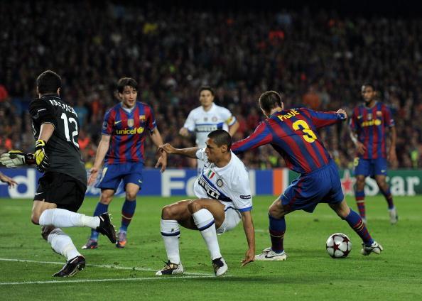 «Барселона» (Іспанія) - «Інтер» (Італія) фото:Michael Regan, Jasper Juinen /Getty Images Sport