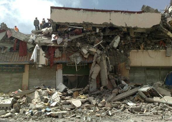 Райони, що постраждалі від землетрусу. Провінція Цінхай. 14 квітня 2010 р. Фото з epochtimes.com