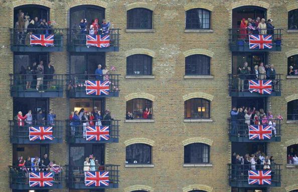 Її Величність Королева Єлизавета II святкує 60-ту річницю свого сходження на престол. Лондон, Англія. 3 червня 2012. Фото: Oli Scarff/Getty Images