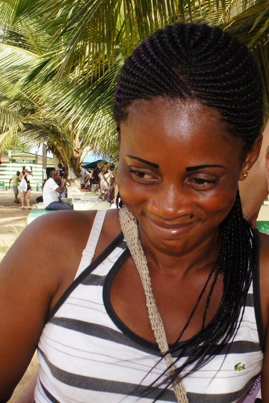 Африканська модниця. Фото: Олександр Африканець