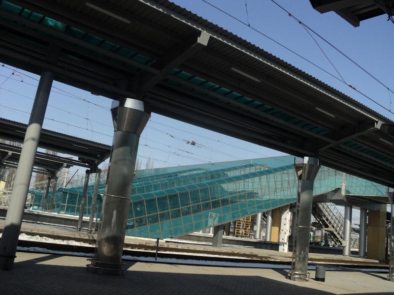 Залізничний вокзал Донецька набуває європейського вигляду. Фото: Ганна Жаворонкова. The Epoch Times Україна