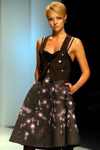 Показ коллекции Виктории Красновой в рамках XXV Ukrainian Fashion Week. Фото: Владимир Бородин/The Epoch Times