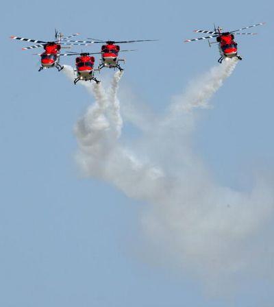 Berlin Air Show ILA 2008. Фото: Sean Gallup/Getty Images
