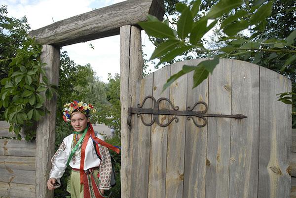 Українська дівчина, 19 червня 2010. Фото: Володимир Бородін/The Epoch Times