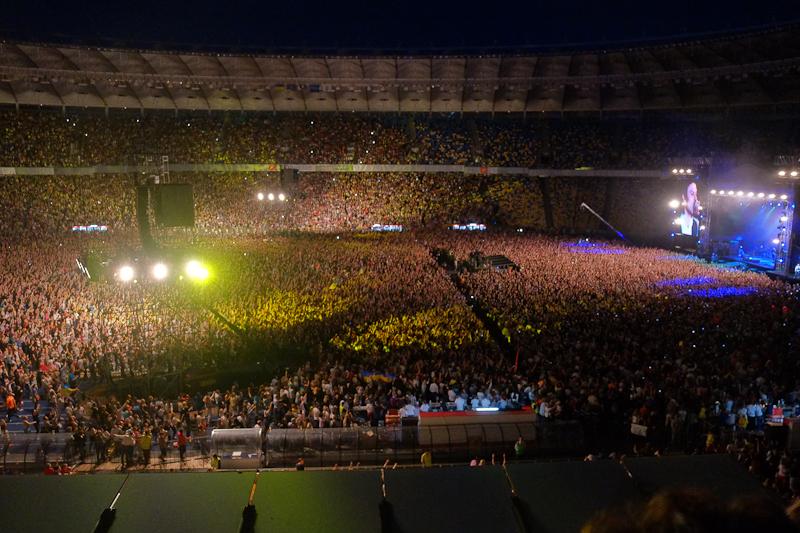 Концерт «Океану Ельзи» пройшов у Києві. Фото: Велика Епоха