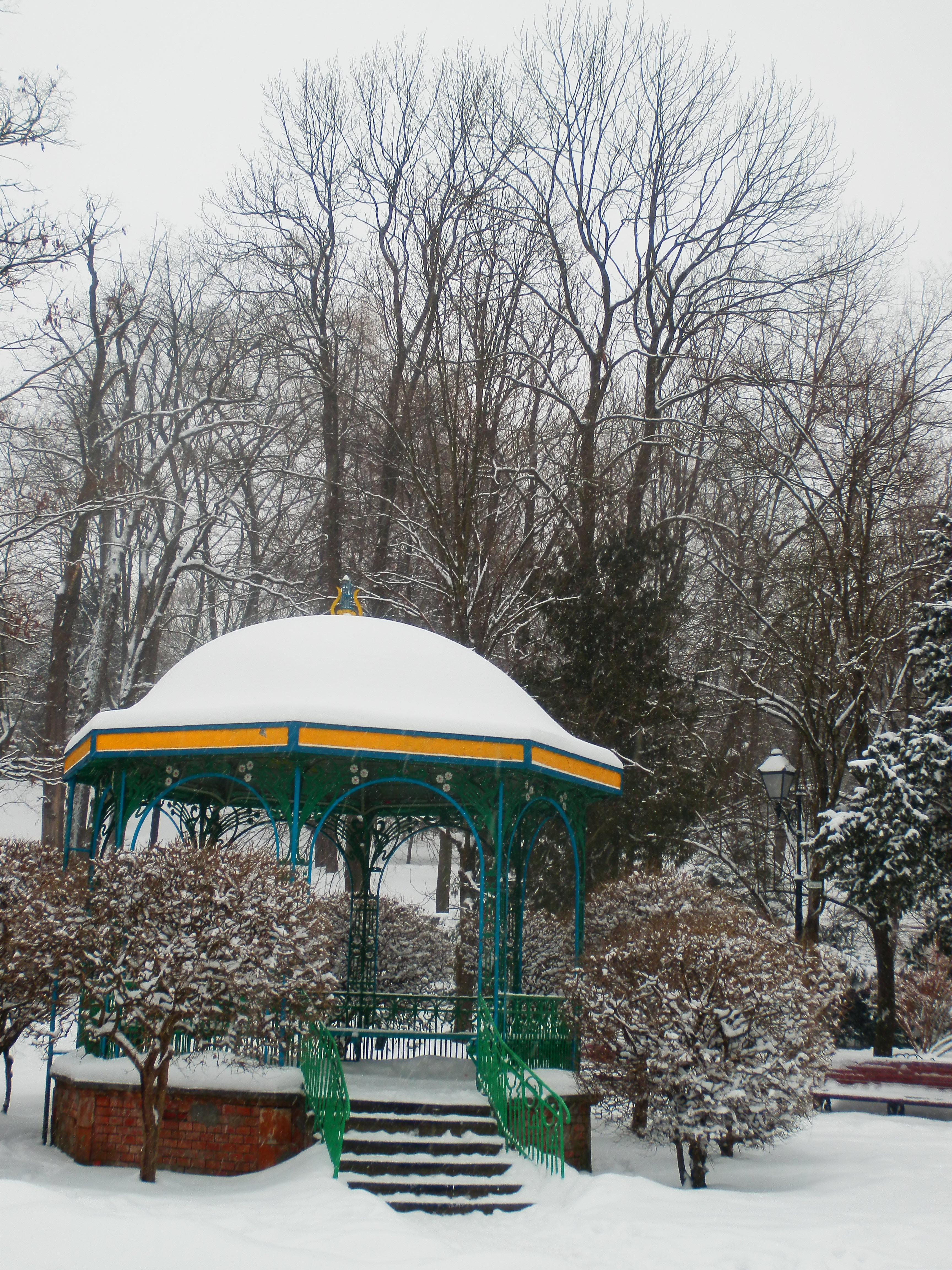 Снежный расцвет архитектуры. Фото: Виктор Гаврылив/The Epoch Times Украина