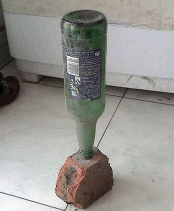 «Индикаторы» землетрясения, которые всё больше появляются в домах у людей в Китае. Фото с bbs.weiqi.cn
