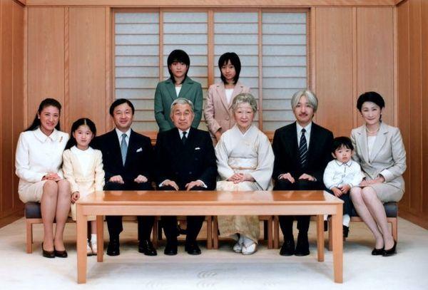 Император Акихито и императрица Митико. Фото: AFP