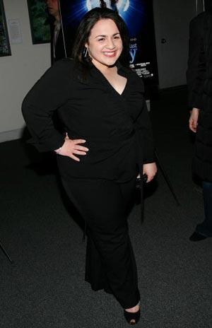 Актриса Николь Блонски (Nicole Blonsky) на премьере фильма Последняя Мимзи в Нью-Йорке. Фото: Evan Agostini/Getty Images