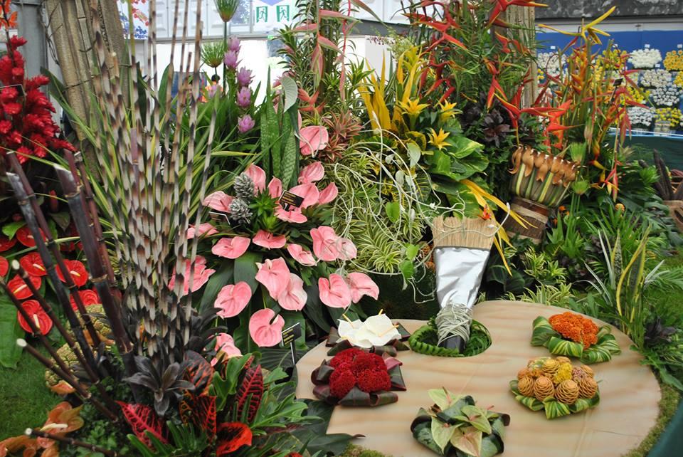 Выставочный стенд общества садоводов Республики Тринидад и Тобаго. Фото: rhschelsea/facebook.com